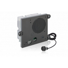 Rail certified hybrid IoIP/SIP module for integration, with housing, without loudspeaker, with microphone MIC480