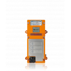 Digital EX-Station, ATEX IIC/T6, 3 buttons, High Voltage, 90 - 264 V AC, 25 Wattwithout handset or loudspeaker