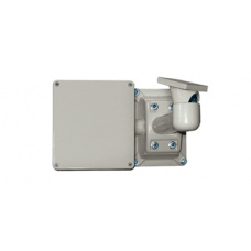 Wall bracket with support plate and weatherproof junction box WBOV3A2