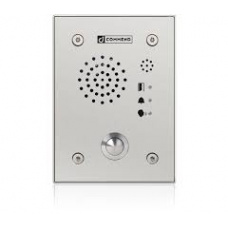 Hybrid IoIP/SIP vandal resistant station with one call button