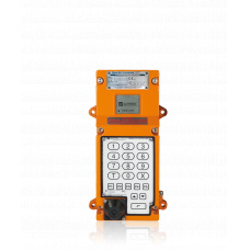 Digital EX-Station, ATEX IIC/T6, full keypad, High Voltage, 90 - 264 V AC,25 Watt amplifier, without handset or loudspea