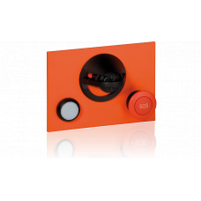 Microphone module with one LED button and one red mushroom button for EE8000 series
