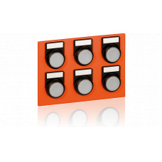 Keypad module with 6 LED buttons for EE8000 series