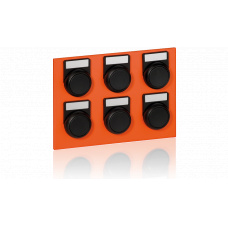 Keypad module with 6 buttons for EE8000 series