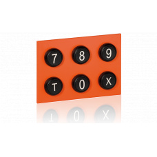 Keypad module with buttons 7-X for EE8000 series
