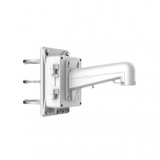 Vertical Pole Mount with Junction Box for PTZ Dome Camera
