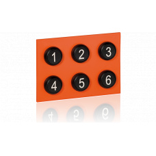 Keypad module with buttons 1-6 for EE8000 series
