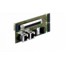 GE 800 Installation board double with 37-way D-Submin-plug