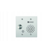 Hybrid IoIP/SIP vandal resistant 2-Gang station with one call button