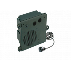 2-wire DSP-Intercom module, in housing, with MIC480