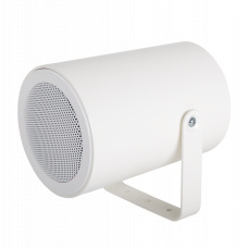 Hybrid IoIP/SIP Projector loudspeaker, 10W, colour white