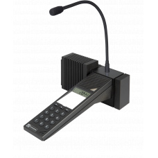 EE 380 base station with gooseneck microphone and additional loudspeaker