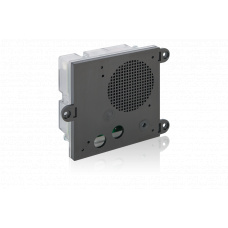 Hybrid IoIP/SIP module for integration, with housing, with built-in loudspeaker, with built-in microphone