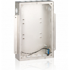Flush in-wall mounting box for EF031x and EW330