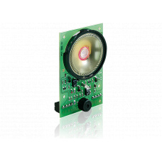 4-wire Simplex intercom module with loudspeaker and microphone