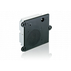 4-wire Intercom module with loudspeaker, microphone and housing