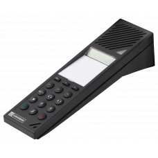 Digital Counter Intercom System with integrated microphone