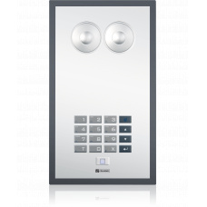 Analogue polycarbonate wallmount station with foil surface and standard keypad